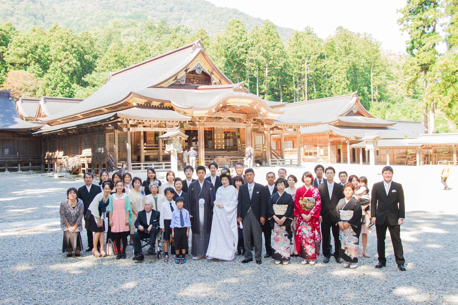 弥彦神社 結婚式