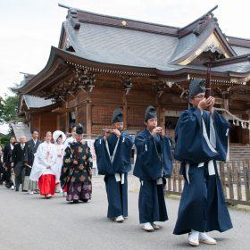 諏訪神社 結婚式