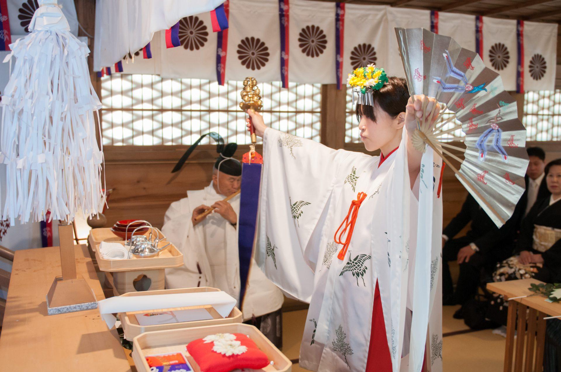 旦飯野神社 結婚式