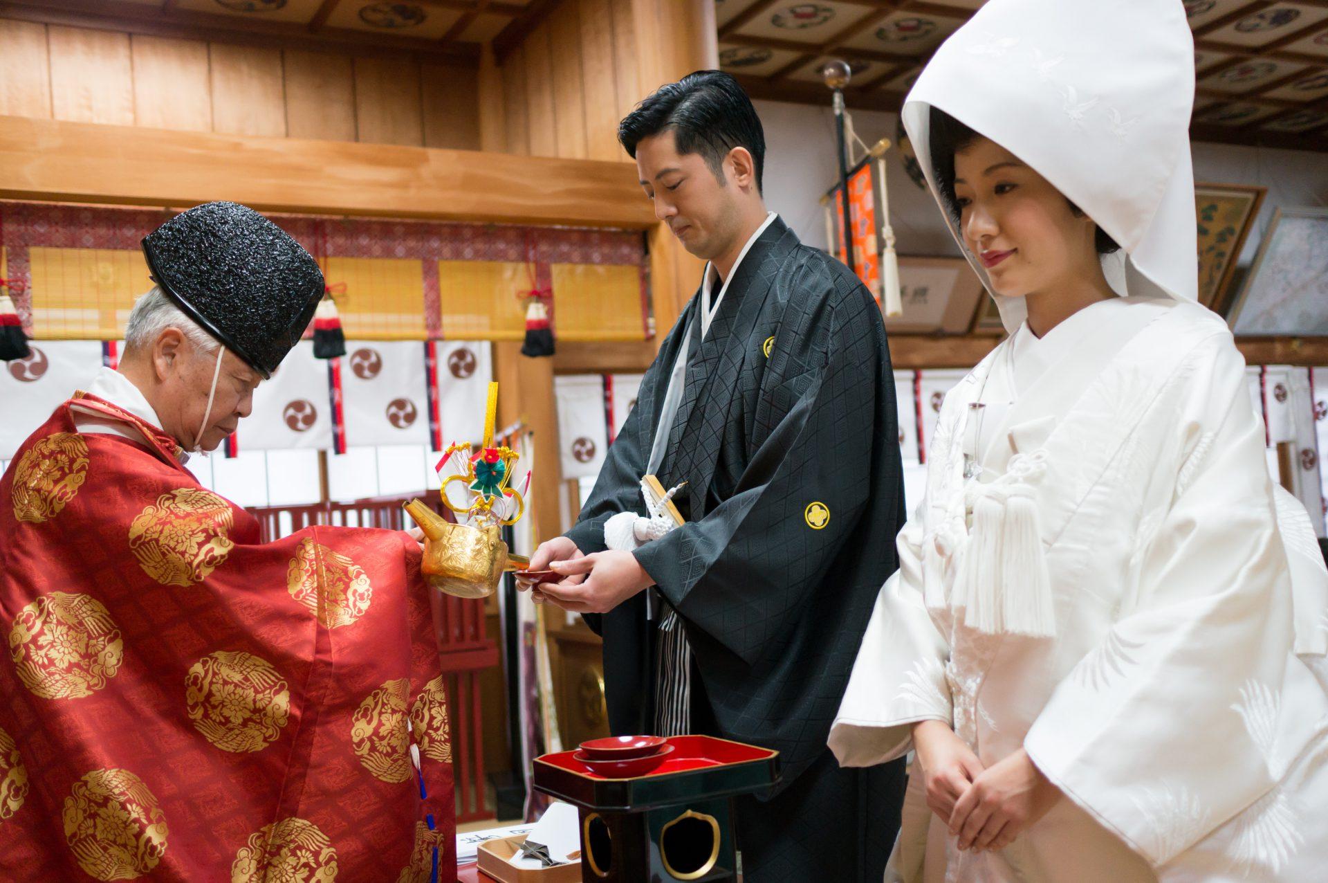 三社神社 結婚式