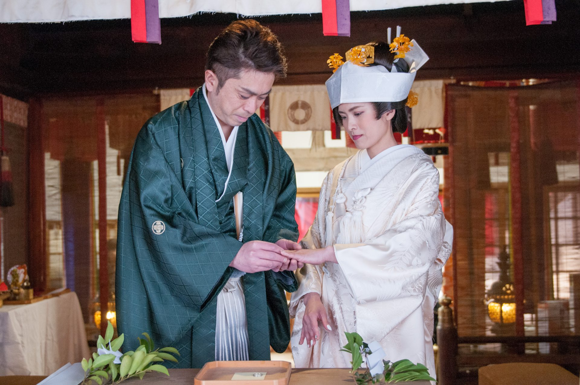 湊稲荷神社 結婚式