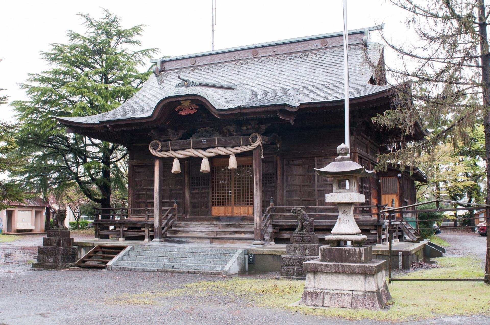 熊野若宮神社外観