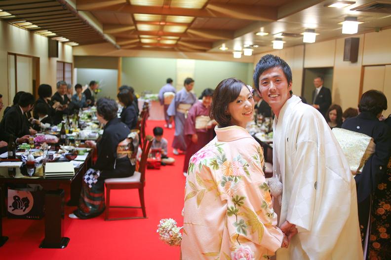 小三 結婚式